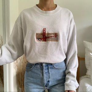 Vtg San Francisco San Segal Sportswear Sweatshirt